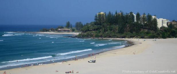 Gold Coast Beach Coolangatta