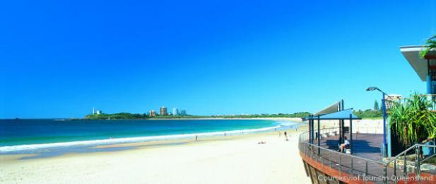 Beach at Mooloolaba Sunshine Coast Queensland