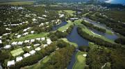 Aerial view of Palmer Coolum Resort